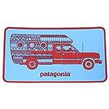 patagonia(パタゴニア) ウォーン ウェア トラック デリア キャンペーン ステッカー 水色