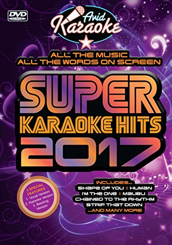 Super Karaoke Hits 2017 [DVD-Audio]