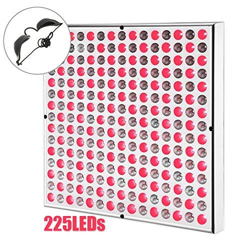 Puzzle 225LEDs Rotlichttherapie-Panel-Lampe Zur Linderung Von Muskelschmerzen,Rot 660nm Nahinfrarot 850nm LED-Infrarotlicht Für Blühende Früchte Grow Spectrum Enhancement Und Lichttherapie