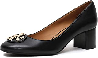 Tory Burch Women's Claire 50 mm Pump Calf Leather Royal Tan 206