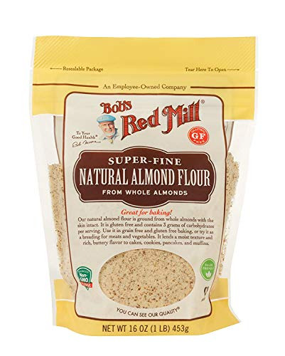 Bob's Red Mill Gluten Free Super-Fine Natural Almond Flour, 16 oz (Pack - 1)