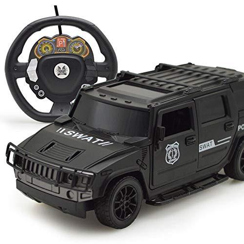 Ycco Schnelle RC-Autos Off Road 1:20 2WD-Fernsteuerung für Erwachsene Voll funktionsfähiger ferngesteuerter Hummer (H2) 1:10 Skalierungsmerkmale Arbeitslichter, Einzelradaufhängung, Alufelgen-Reifen,
