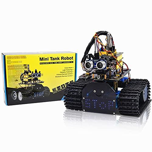 KEYESTUDIO Progetto Robot Auto Car V2.0 per Arduino con...