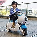 WGFGXQ Elektroauto Kinder Motorrad Fernbedienung Auto Rc Auto Dreirad Baby Balance Fahrt auf...
