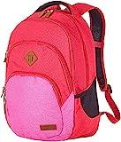 Travelite Leichtes lässiges Surferlook Trolley Rucksack 45 cm, 22 L, Rot/Pink