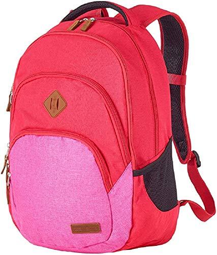 Travelite Leichtes, flexibles und lässiges Weichgepäck ? Trolley, Rucksäcke, Reisetaschen im Surferlook Zaino Casual, 45 cm, 22 liters, Rosso (Rot/Pink)