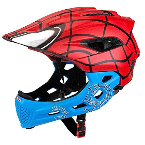 YLLQXI Casco de Bicicleta, Bike Helmet, Bike Road Hombres y Deportes al Aire Libre de Las Mujeres, para Niños, Ligero, Casco de Bicicleta BMX, Trasera para Niños y Niñas