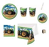Creative Converting IRPot - Kit N 42 Coordinato Trattore ADDOBBI Festa Party Agricoltura Bambino