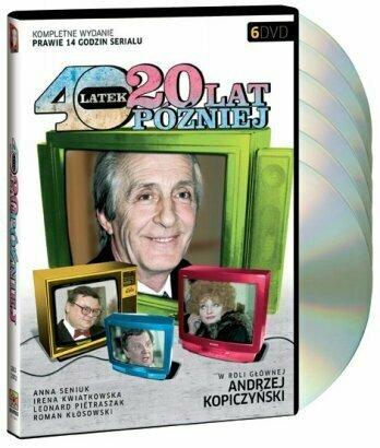 Czterdziestolatek (40-latek): 20 lat pózniej - 1993 TV miniseries on 6-DVD (Region 2, PAL)