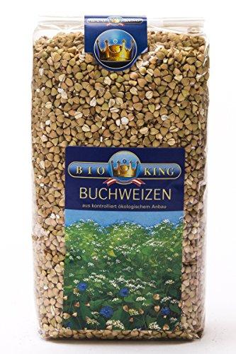 BioKing 4x 500g Bio BUCHWEIZEN, ganz (EUR 2,79 / Pkg.)