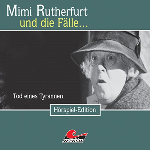 Tod eines Tyrannen audiobook cover art