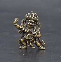 Busts Sculptures Ornaments China Collection Archaize Brass Buddhism Buddha Small Statue