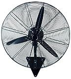 INFINITON VENTILADOR INDUSTRIAL DE PARED IF-W50 – 100W - 3 Velocidades – 3 Aspas – 50cm de Diametro – Oscilante - Motor de Aluminio – Silencioso - Temporizador