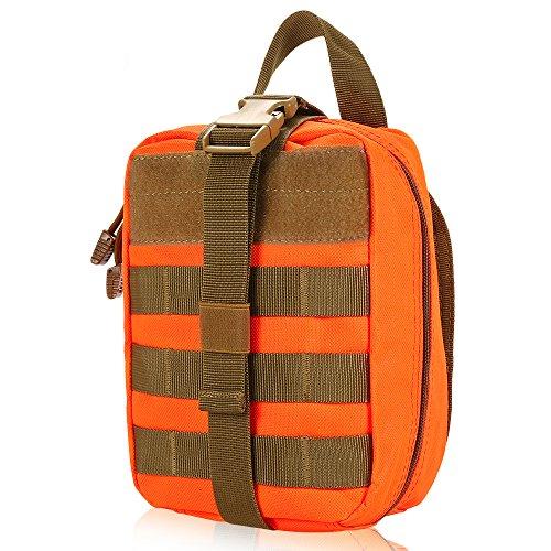 Outdoor MOLLE Bolsa médica Kit de primeiros socorros Bolsa de utilitário Emergency Survival First Responder Medic Bag