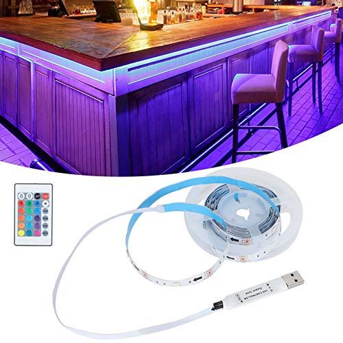 Cinta de luz LED, Conveniente y Duradera Tiras de Luces LED Que no deslumbran para Salidas de Viaje para decoración del hogar para Acampar