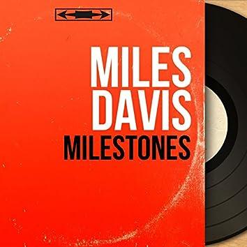 Milestones (feat. Julian Adderley, John Coltrane, Red Garland, Paul Chambers, Joe Jones) [Remastered, Mono Version]