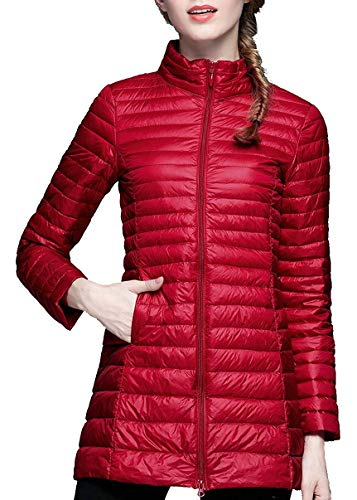 HuntDream Ultraleichte Packable Daunenjacke für Damen