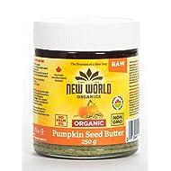 New World Foods Pumpkin Seed Butter, Raw Organic 250g