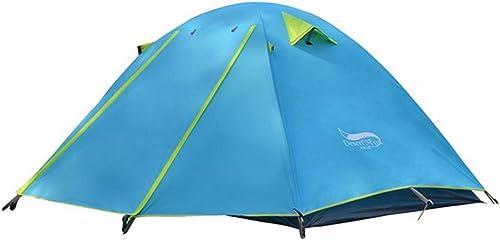 JESSIEKERVIN YY3 Une Seule Personne Tente Robuste à Deux Niveaux de Prougeection Contre la Pluie Tente de randonnée Besoin d'être assemblé Ultra-léger étanche pour la randonnée Camping Voyage