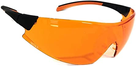 Óculos PROTEÇÃO Laranja 546 Bloqueador De Luz Azul - Escuridão Virtual BLUE CONTROL ideal para DENTISTAS LUZ ULTRAVIOLETA,...