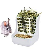 QSLQYB Comedero para Conejos, Rejilla para Heno para Conejos, Conejillo de Indias para Hámster Comedero para Heno para Conejos Adecuado para Otros Animales Pequeños