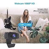 Zoom IMG-2 wansview webcam 1080p con microfono