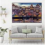 YaShengZhuangShi Bild auf leinwand Amsterdam Landschaft