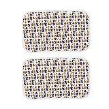 Popetpop 2 x Welpen-Unterlagen waschbar, klein, schnell saugfähig, wiederverwendbar, für Welpen,...