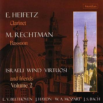 Israeli Wind Virtuosi and Friends, Vol. 2