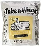 TAKE-A-WHEY Isolate Protein Eiweiß Shake Molkeprotein Pures Isolat Bodybuilding 900g (Banana Cream - Banane)
