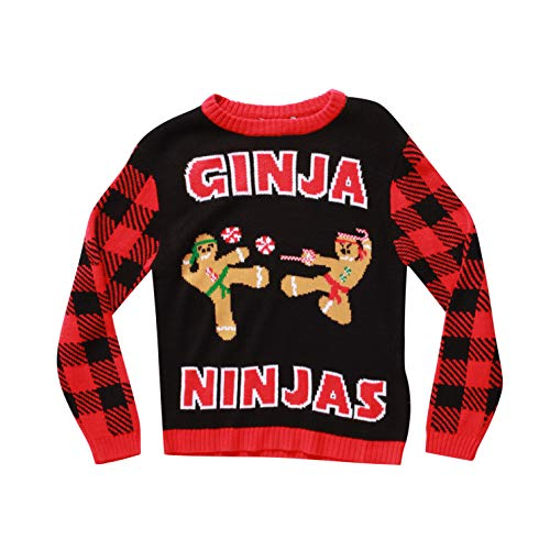#followme Ugly Christmas Sweaters for Boys 68702-359-10-12