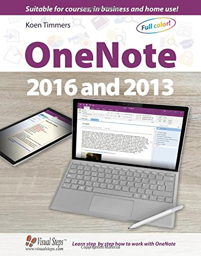 OneNote 2016 and 2013 (Computer Books)