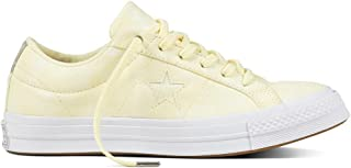 Converse Cons One Star Peached Wash Ox, Unisex Adults' Low-Top Sneakers Low-Top Sneakers, Yellow (Gelb/Weiß Gelb/Weiß), 6 UK (39 EU)