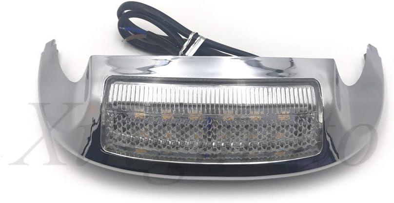 AfterMokit Replacement Front Fender Tip Harley Popular popular Cheap SALE Start Led Dav Light for