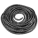 GTIWUNG Raccoglicavi Spiralato, Spirale Avvolgicavo, Tubo a Spirale Diametro 8mm, Copricav...