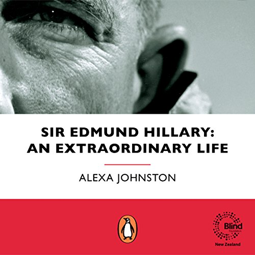 Sir Edmund Hillary audiobook cover art