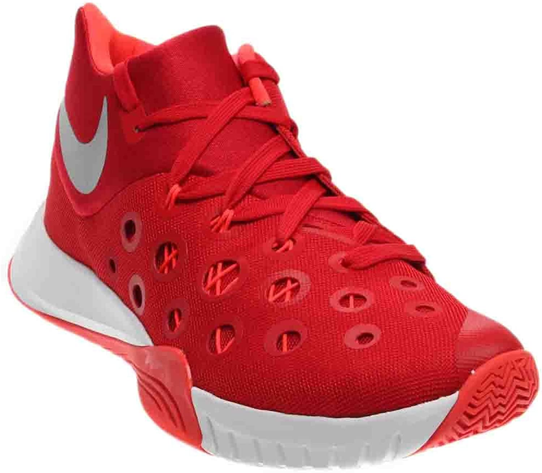 Nike Zoom Hyperquickness 2015 TB 749883 606 (Unvrsty rot Bright CR Metallic Silber, 11 D(M) US)