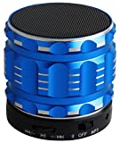 Aduro AMPLIFY Mini BSP20 Wireless Stereo Sound Bluetooth Handheld Speaker Rugged Build (Blue)