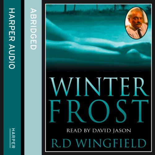 Winter Frost audiobook cover art