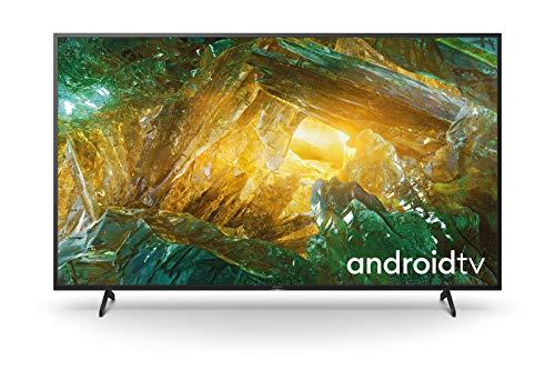 Sony KD-55XH8096 - Android TV 55 Pollici, Smart TV 4K HDR LED Ultra HD, con Assistenti Vocali Integrati, Modello 2020, Nero