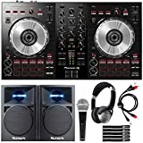 Pioneer DDJ-SB3 Serato DJ Controller Starter Package w/Speakers + Headphones