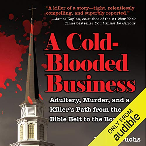 A Cold-Blooded Business audiobook cover art