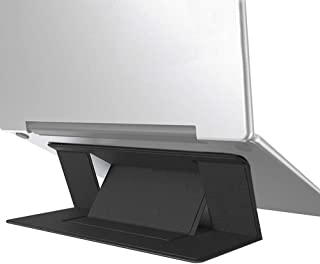 ノートパソコン スタンド MacBookスタンド 超軽量90g ラップトップ パソコン タブレットスタンド 持ち運びが簡単
