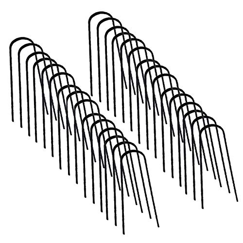 IDMarket - Lot de 30 agrafes pour Toile de paillage 10 CM