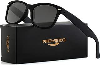 Small Polarized Sunglasses Classic Retro Stylish Sun Glasses for Adult Small Face and Junior, 55mm