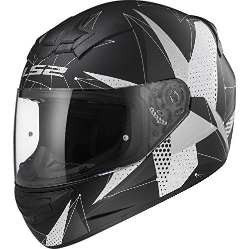 LS2Casco Moto FF352Rookie Brilliant, Matt black Titanium, M