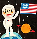 Julius Space Monkey Fleece Fabric Panel - Paul Frank (Great for Quilting, Sewing, Craft Project, Throw Blanket, Wall Hanging, and More) 48' x 60'