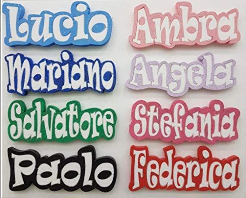 ARDITO MICHELE Scritta Nome da Personalizzare in POLISTIROLO Altezza.10 cm Massimo 10 Lettere Party Festa