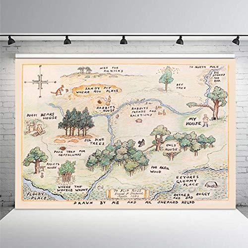 100 aker wood map - 7