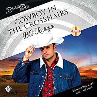 Cowboy in the Crosshairs audiobook cover art